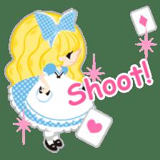 Alice -English- sticker #5622385