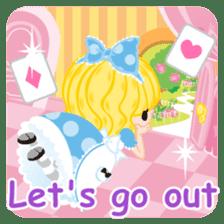 Alice -English- sticker #5622388