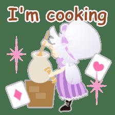 Alice -English- sticker #5622392