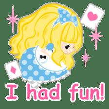 Alice -English- sticker #5622394