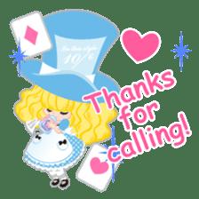 Alice -English- sticker #5622396