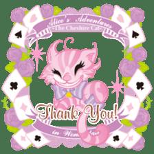 Alice -English- sticker #5622402