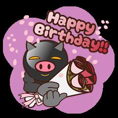 Black pig kukuboo (English version)