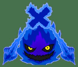 Blue Flame Onibi (Eng) sticker #5631570