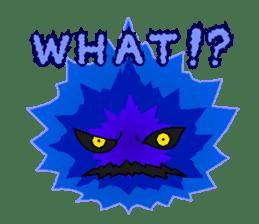 Blue Flame Onibi (Eng) sticker #5631591