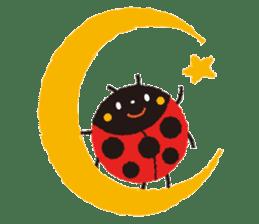 Samba of the ladybug-English.ver sticker #5632086