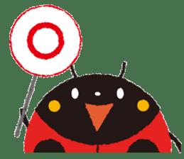 Samba of the ladybug-English.ver sticker #5632089