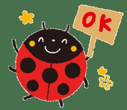 Samba of the ladybug-English.ver sticker #5632091