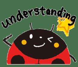 Samba of the ladybug-English.ver sticker #5632095