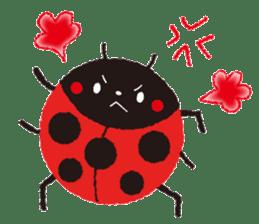 Samba of the ladybug-English.ver sticker #5632096