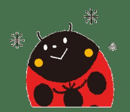 Samba of the ladybug-English.ver sticker #5632098