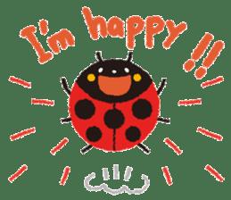 Samba of the ladybug-English.ver sticker #5632099