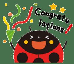 Samba of the ladybug-English.ver sticker #5632100