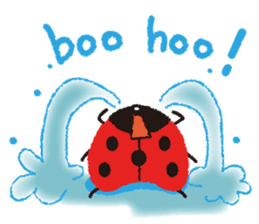Samba of the ladybug-English.ver sticker #5632102