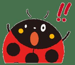 Samba of the ladybug-English.ver sticker #5632104