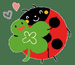 Samba of the ladybug-English.ver sticker #5632106