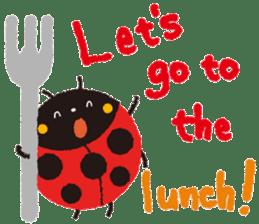 Samba of the ladybug-English.ver sticker #5632108