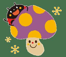 Samba of the ladybug-English.ver sticker #5632111