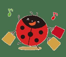 Samba of the ladybug-English.ver sticker #5632114