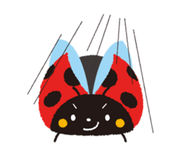 Samba of the ladybug-English.ver sticker #5632115
