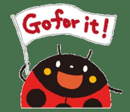 Samba of the ladybug-English.ver sticker #5632116