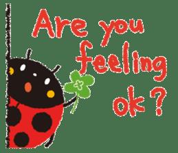 Samba of the ladybug-English.ver sticker #5632118