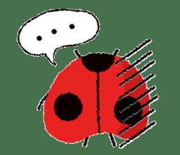 Samba of the ladybug-English.ver sticker #5632121