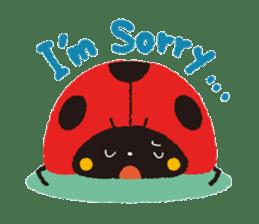 Samba of the ladybug-English.ver sticker #5632122