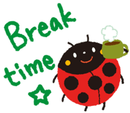 Samba of the ladybug-English.ver sticker #5632123