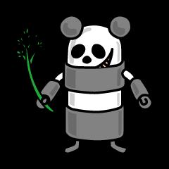 Cylinder Robot PANDA-LINDER (ENG ver.)