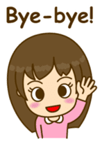 Cute Peppy Girl (conversation set) sticker #5633725