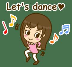 Cute Peppy Girl (conversation set) sticker #5633727