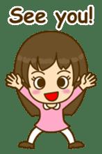 Cute Peppy Girl (conversation set) sticker #5633728