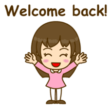 Cute Peppy Girl (conversation set) sticker #5633729