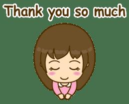 Cute Peppy Girl (conversation set) sticker #5633730