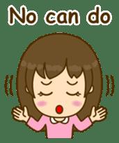 Cute Peppy Girl (conversation set) sticker #5633734