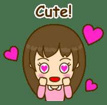 Cute Peppy Girl (conversation set) sticker #5633736