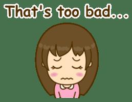 Cute Peppy Girl (conversation set) sticker #5633741