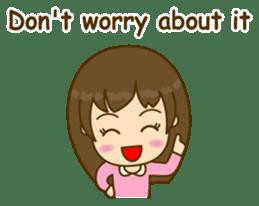 Cute Peppy Girl (conversation set) sticker #5633760