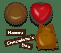 Chocolate Around.+e sticker #5634531