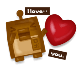 Chocolate Around.+e sticker #5634532
