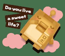 Chocolate Around.+e sticker #5634539