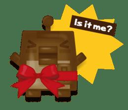 Chocolate Around.+e sticker #5634541