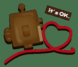 Chocolate Around.+e sticker #5634543