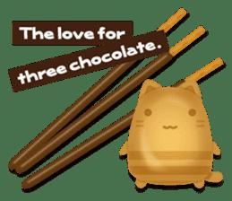 Chocolate Around.+e sticker #5634552