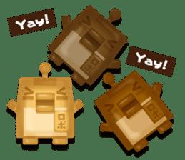 Chocolate Around.+e sticker #5634555