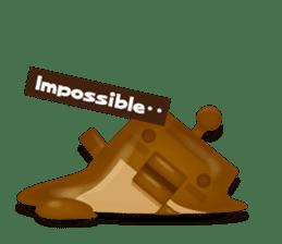 Chocolate Around.+e sticker #5634559