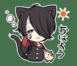 BLACK KITTEN 2 sticker #5636124