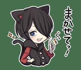 BLACK KITTEN 2 sticker #5636130