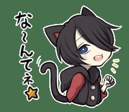 BLACK KITTEN 2 sticker #5636131